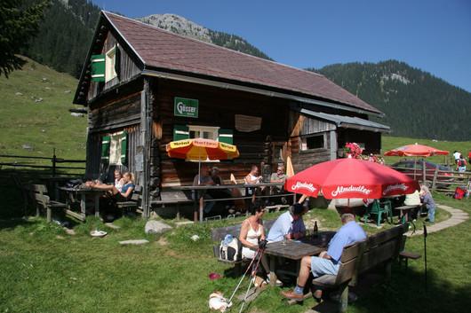 Hinteregger Alm Hütte