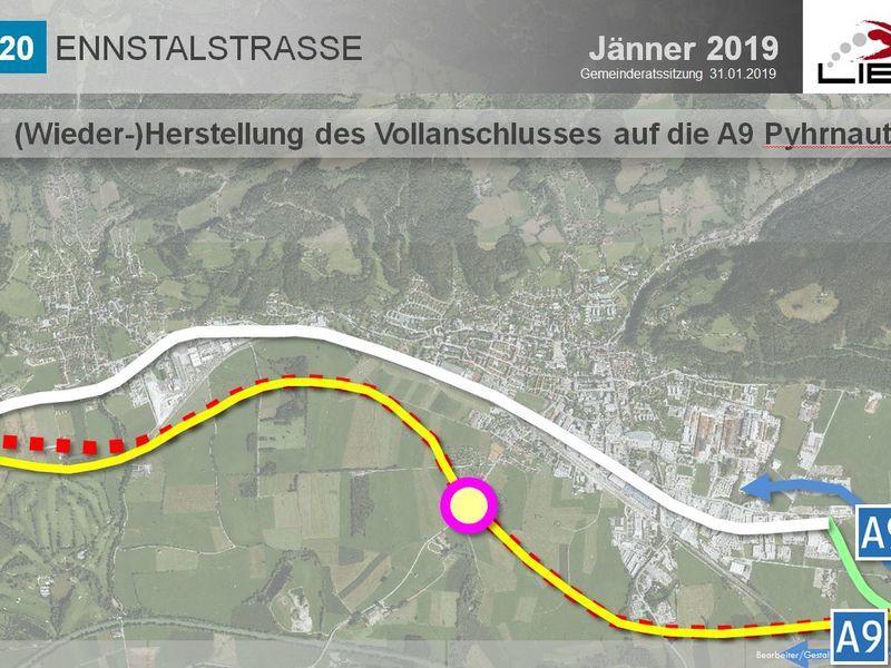 Karte_12_Anschluss_A9_Pyhrnautobahn