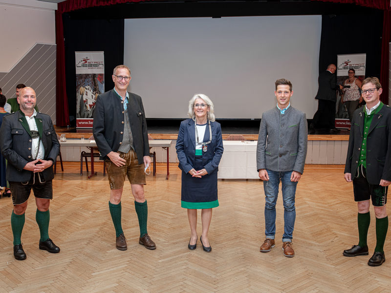Die Statratsmitglieder: Raimund Sulzbacher (ÖVP), Egon Gojer (ÖVP) Roswitha Glashüttner (SPÖ), Stefan Wasmer (SPÖ) und Albert Krug (SPÖ)