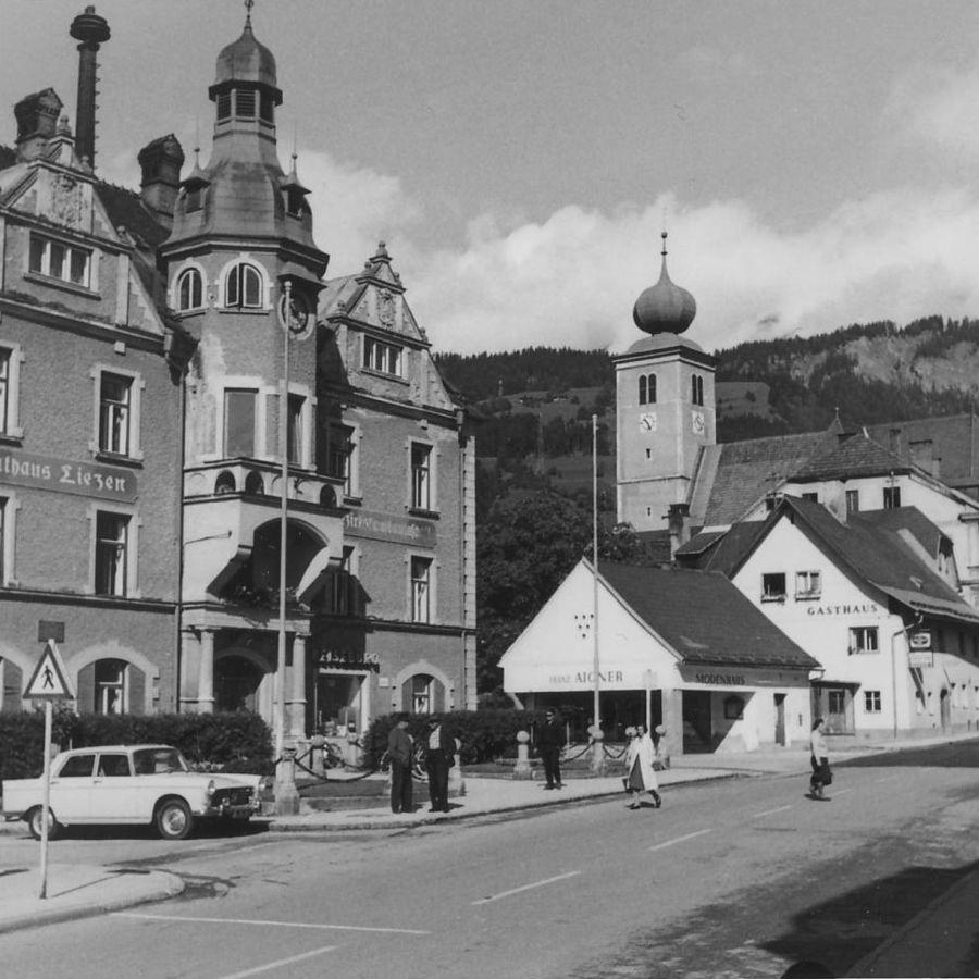 1966 Rathaus Foto Baumgartner